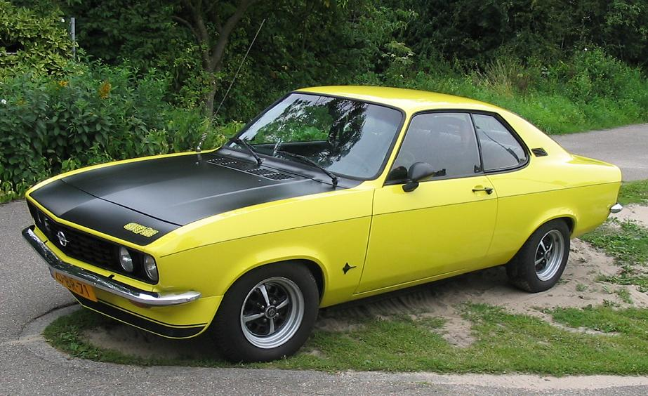 Opel Manta On Pinterest